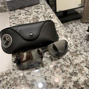 Polarized Frameless Rayban Glasses